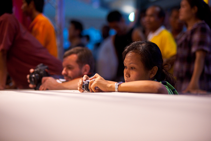 Ringside Camera Photographers Muay Thai Boxing - Bangkok, Thailand - Daily Travel Photos