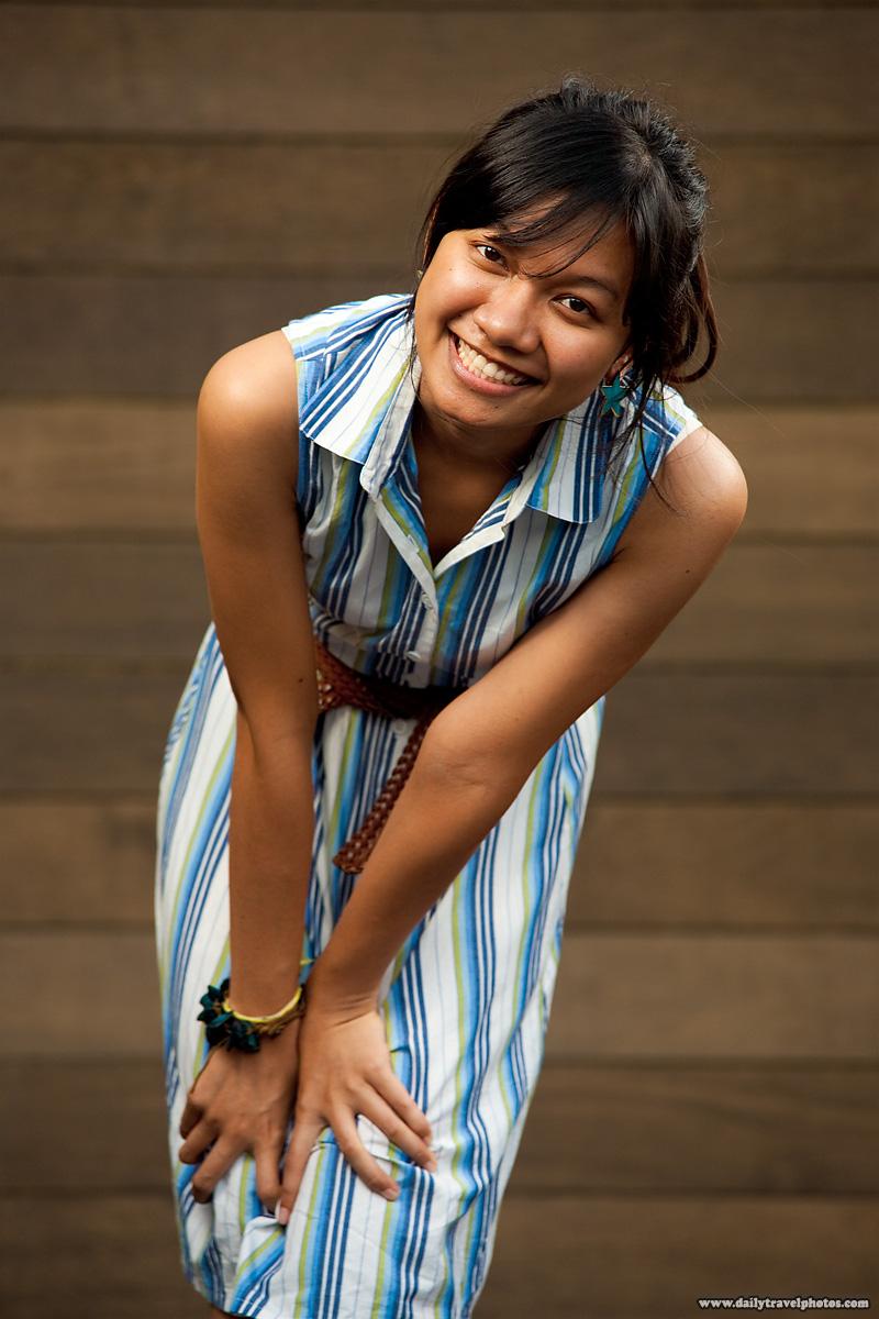 Akino Cute Thai Girl Strobist - Bangkok, Thailand - Daily Travel Photos