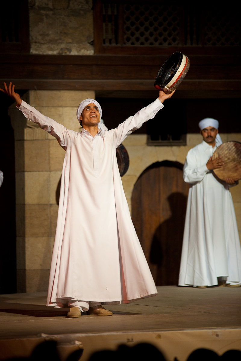 Whirling Dervish Sufi Dance Al-Ghouri - Cairo, Egypt - Daily Travel Photos
