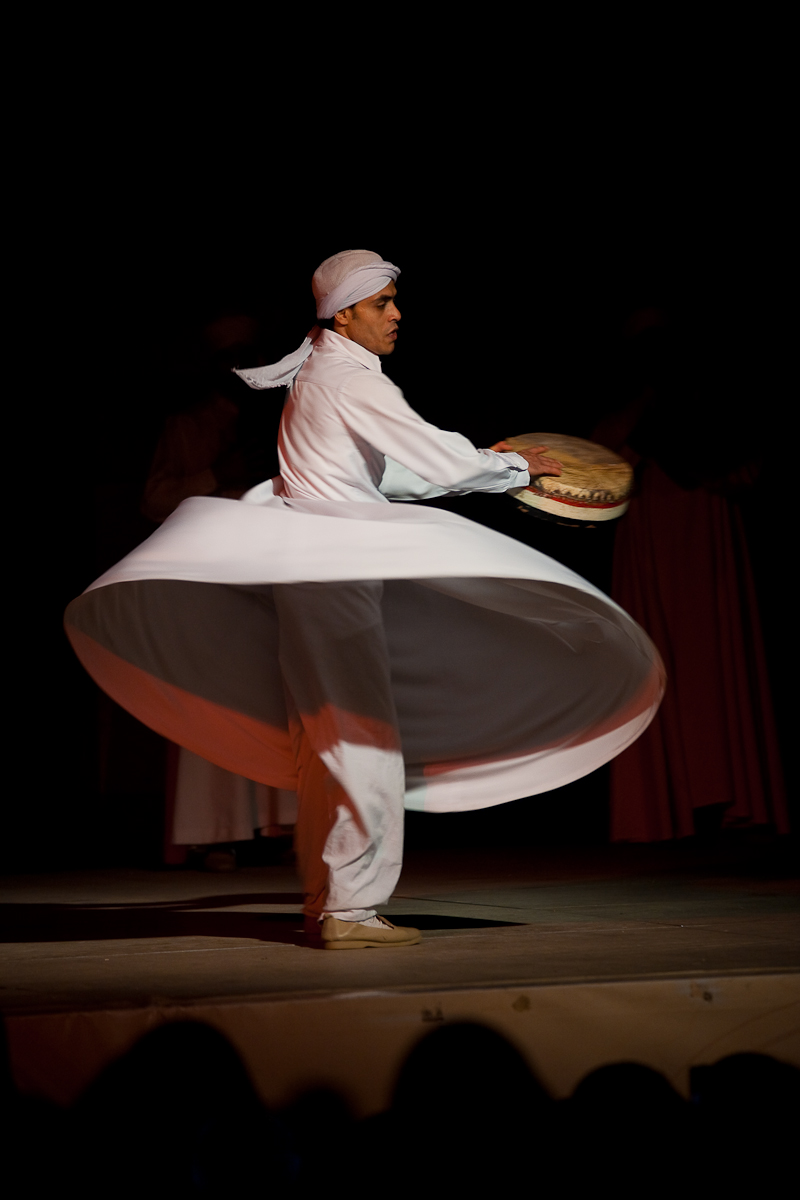 Tambourine Whirling Dervish Sufi Dancer - Cairo, Egypt - Daily Travel Photos