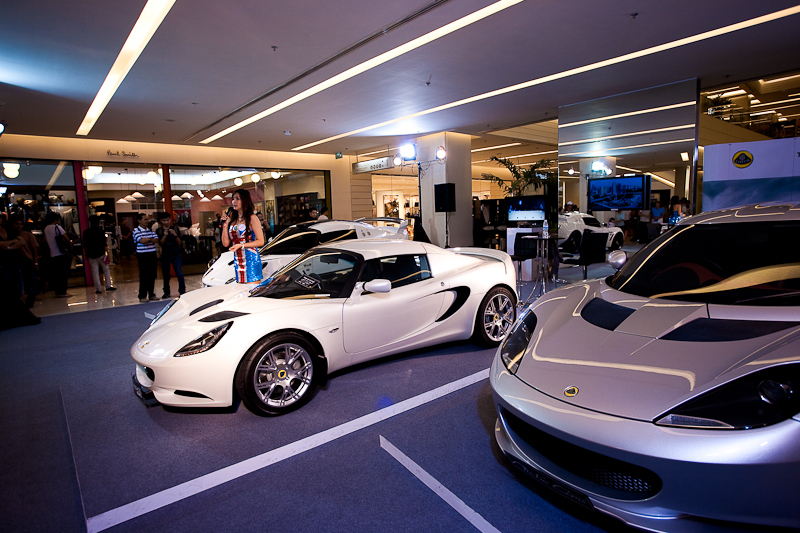 Spokes-model Lotus Sports Car Show Paragon Mall - Bangkok, Thailand - Daily Travel Photos