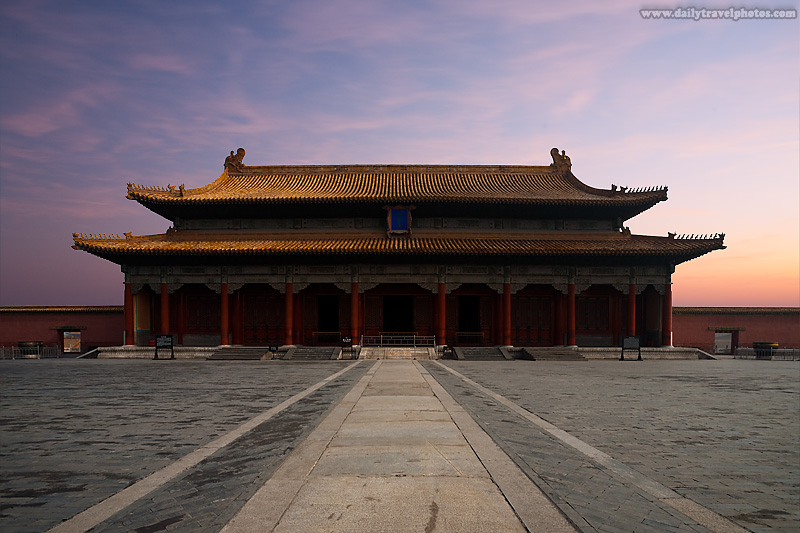 Imperial Palace Forbidden City Sunrise - Beijing, China - Daily Travel Photos