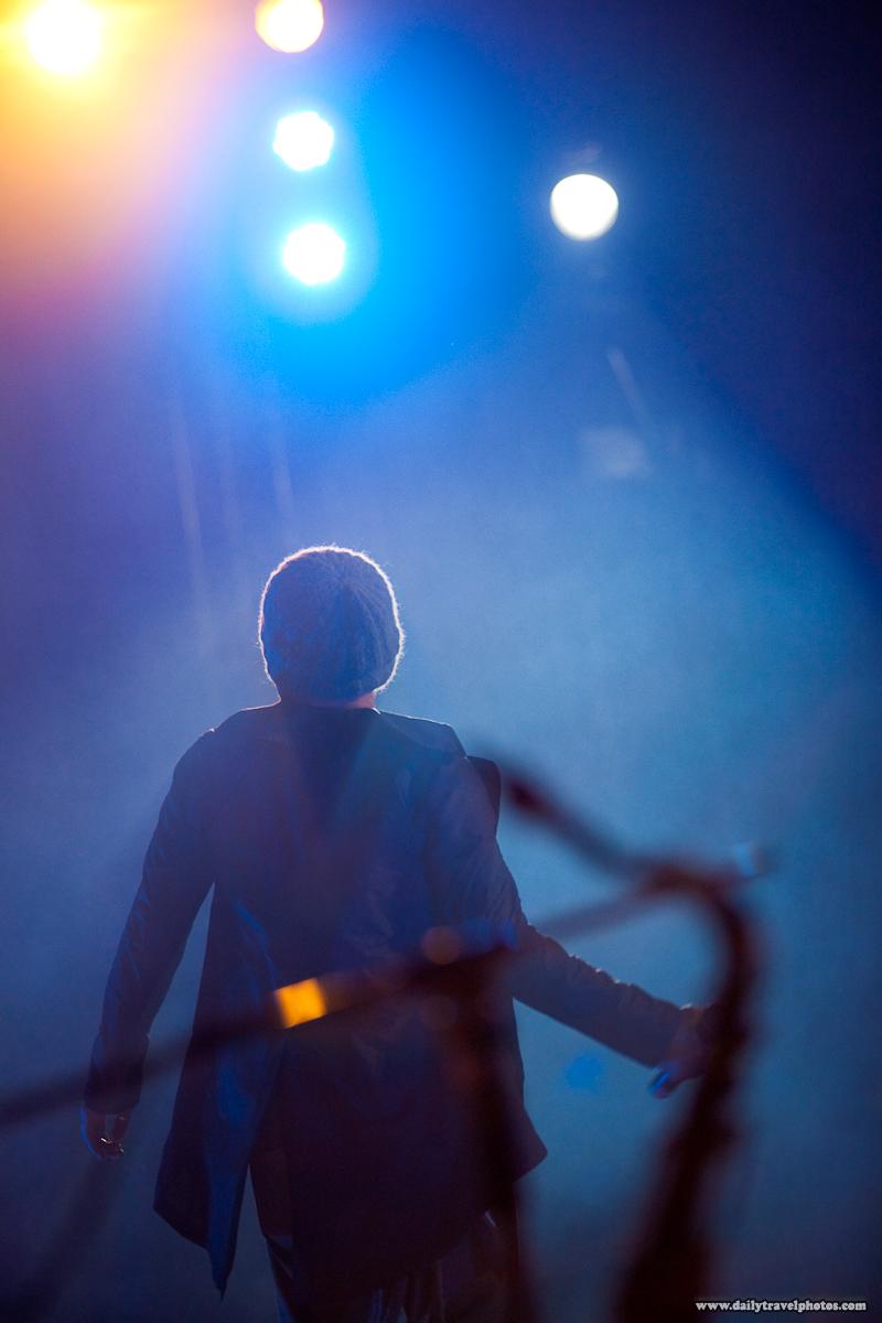 Thai Singer Instruments Backlit Performance Night - Bangkok, Thailand - Daily Travel Photos