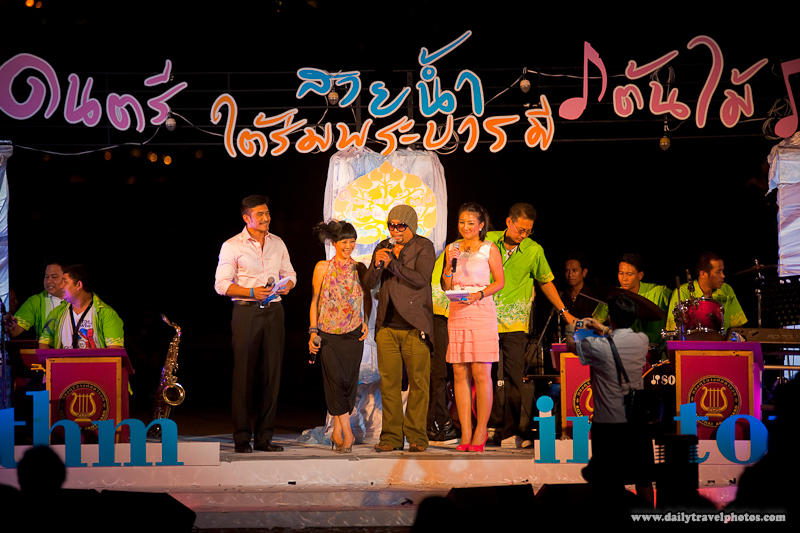 Master of Ceremony Singers Big Band Thai Performance Night - Bangkok, Thailand - Daily Travel Photos