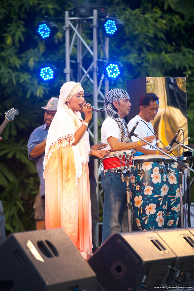 La Fete Bangkok Baby Arabia Southern Thailand Muslim Band Female Lead before Processing - Bangkok, Thailand - Daily Travel Photos
