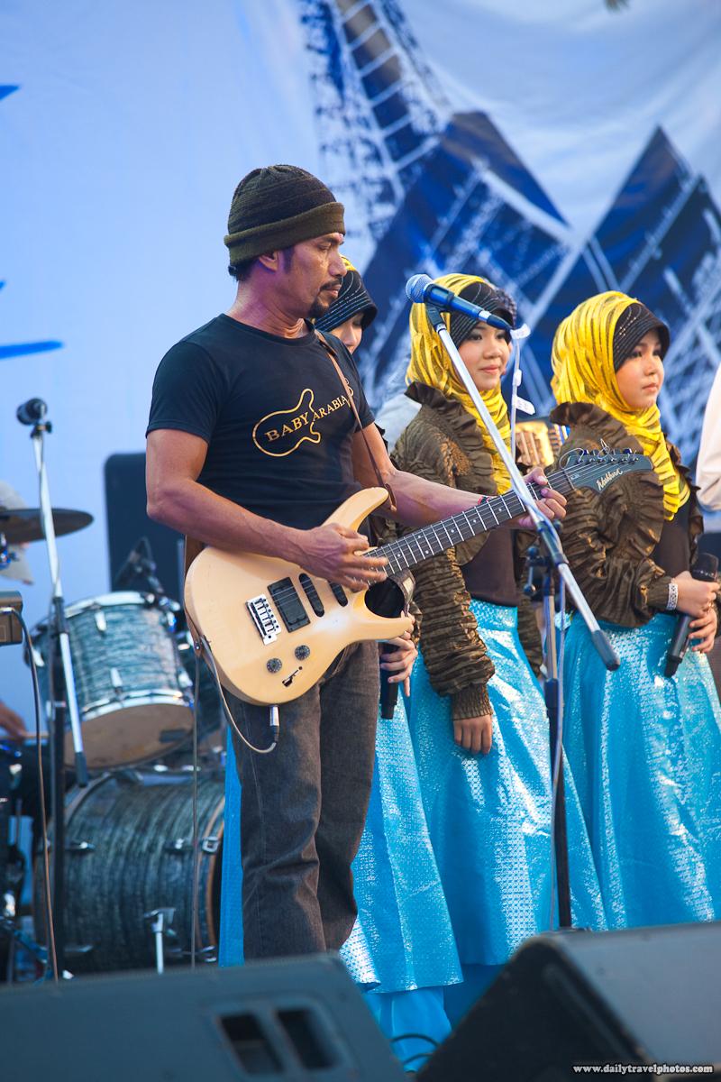 La Fete Bangkok Baby Arabia Southern Thailand Muslim Band Male Lead Singer before processing - Bangkok, Thailand - Daily Travel Photos