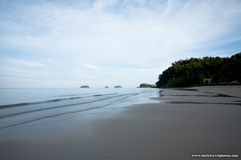 Lonely Beach Empty At Early Morning - Ko Chang, Thailand - Daily Travel Photos