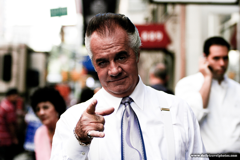 Pauly Walnuts Shooting On Set For Sopranos - New York City, USA - Daily Travel Photos