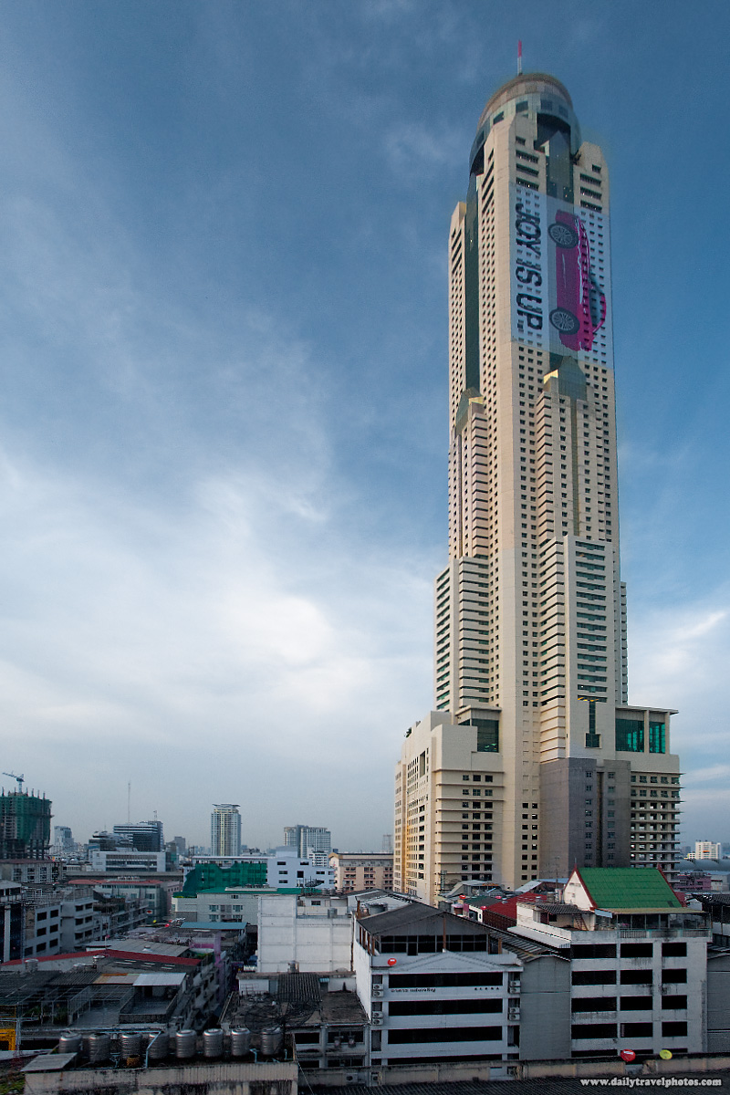 Baiyoke Tower Tallest Building And Surrounding Shopping Neighborhood - Bangkok, Thailand - Daily Travel Photos
