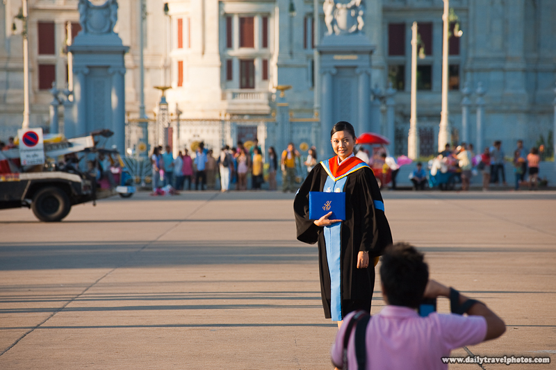 University Graduate Ananta Samakhom Throne Hall Dusit Palace- Bangkok, Thailand - Daily Travel Photos