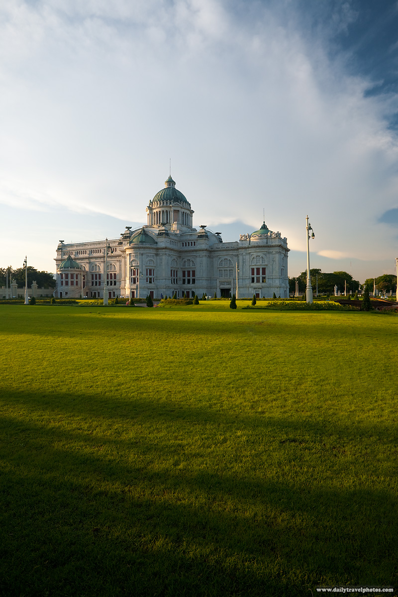 Ananta Samakhom Throne Hall Dusit Palace After Post Production - Bangkok, Thailand - Daily Travel Photos
