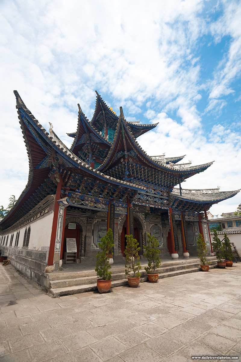 Chinese Christian Church Traditional Architecture - Dali, Yunnan, China - Daily Travel Photos