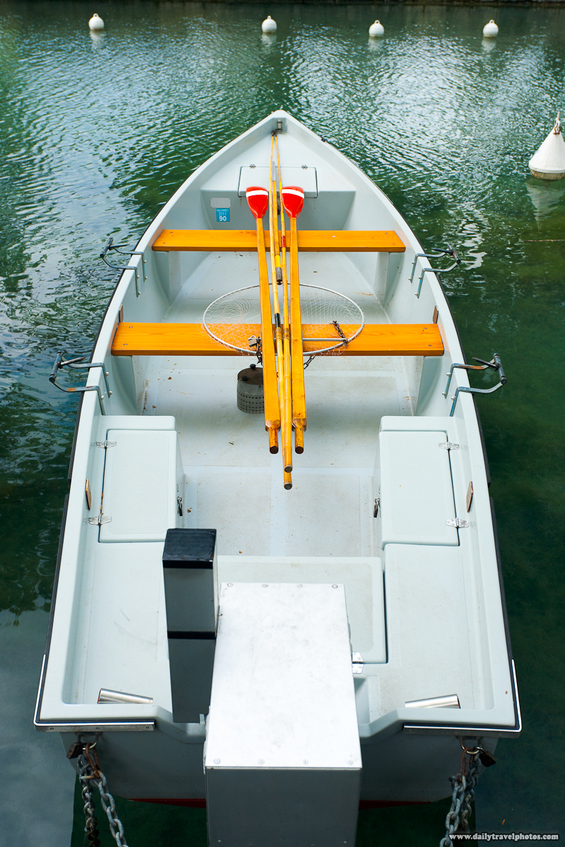 Fishing Rental Boat Lake Annecy - Annecy, Haute-Savoie, France - Daily Travel Photos