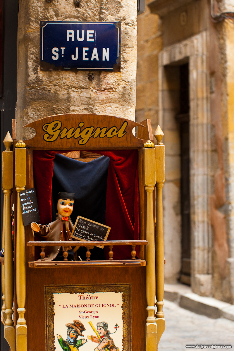 Locally Famous Form of Puppet Show Called Guignol - Lyon, France - Daily Travel Photos