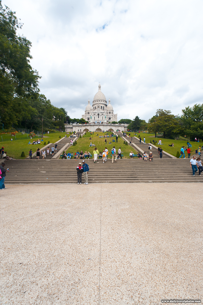 Sacre Coeur Before Post Processing - Paris, France - Daily Travel Photos