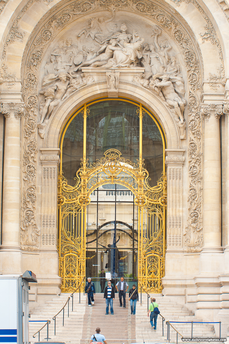 Entrance Petit Palais Before Post-Processing - Paris, France - Daily Travel Photos