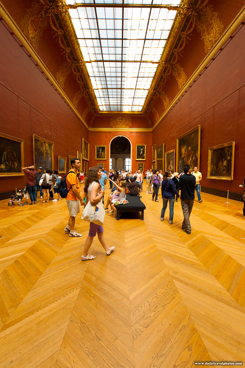 Paintings Exhibited at Louvre Museum - Paris, France - Daily Travel Photos