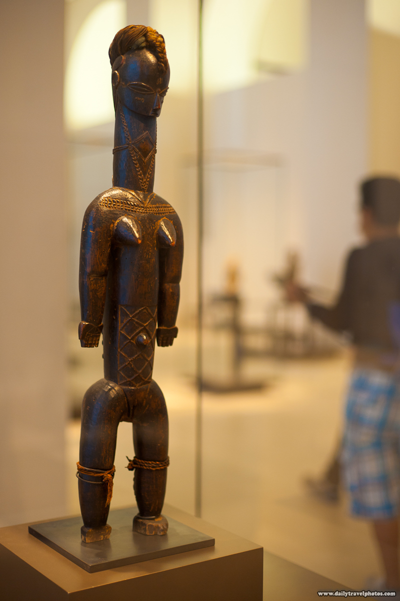 African Art Statue Louvre Museum - Paris, France - Daily Travel Photos