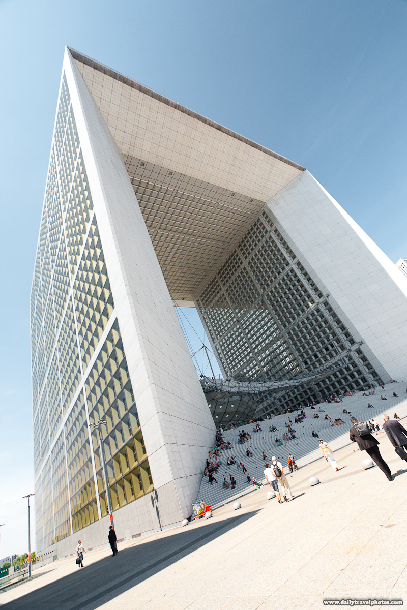 Grande Arche de La Defense Base Steps - Paris, France - Daily Travel Photos