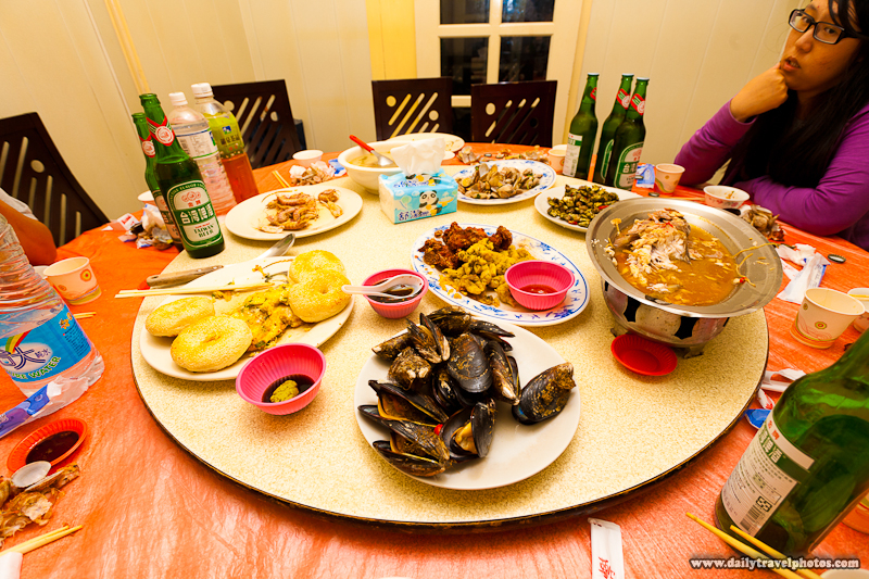 Seafood Restaurant Meal Typical of Local Food - Nangan, Matsu Islands, Taiwan - Daily Travel Photos