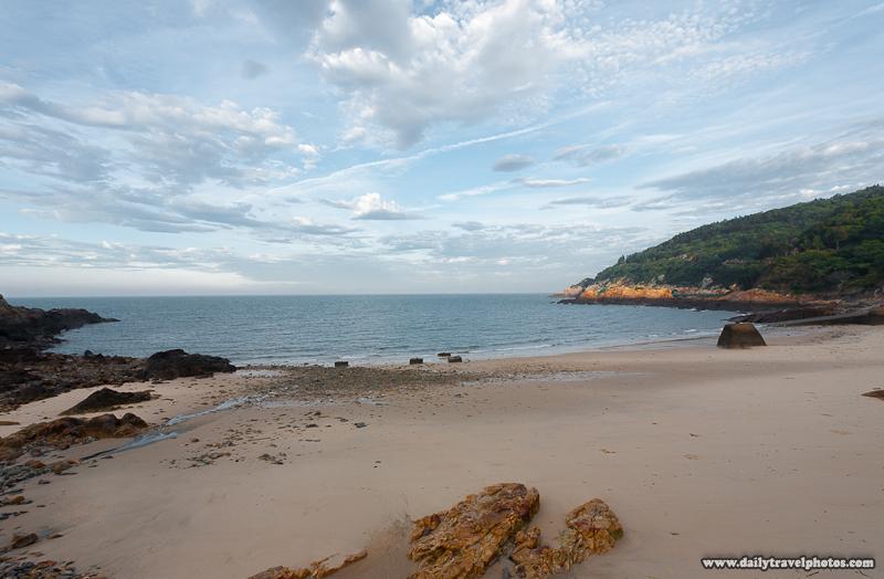 Renai Village Sand Beach and Ocean - Nangan, Matsu Islands, Taiwan - Daily Travel Photos