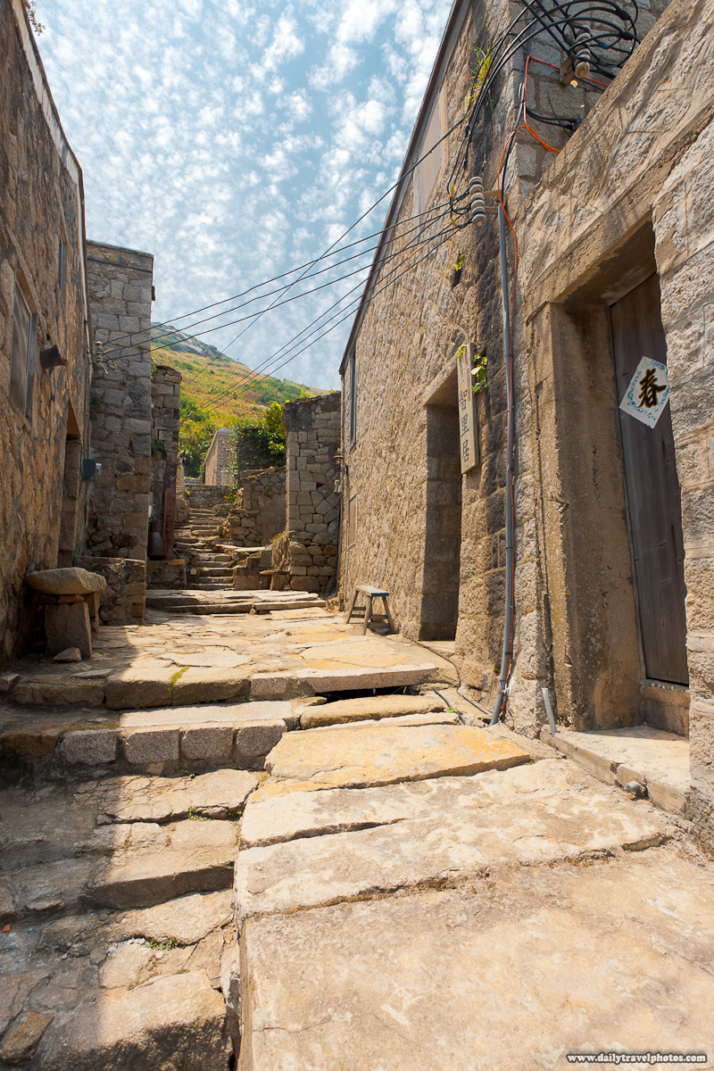 Qinbi Village Lane and Fujian Stone Houses - Beigan, Matsu Islands, Taiwan - Daily Travel Photos
