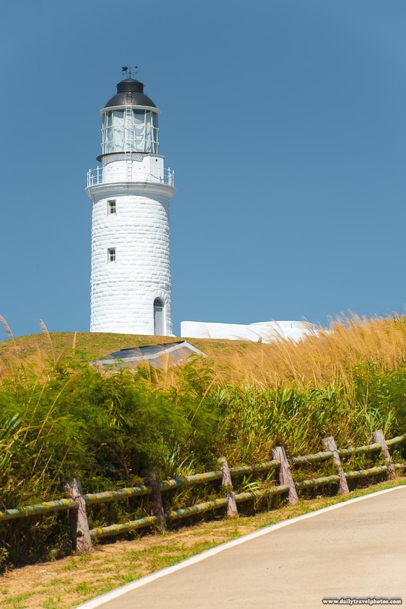 Dongquan Lighthouse and Tall Grass - Juguang, Matsu Islands, Taiwan - Daily Travel Photos