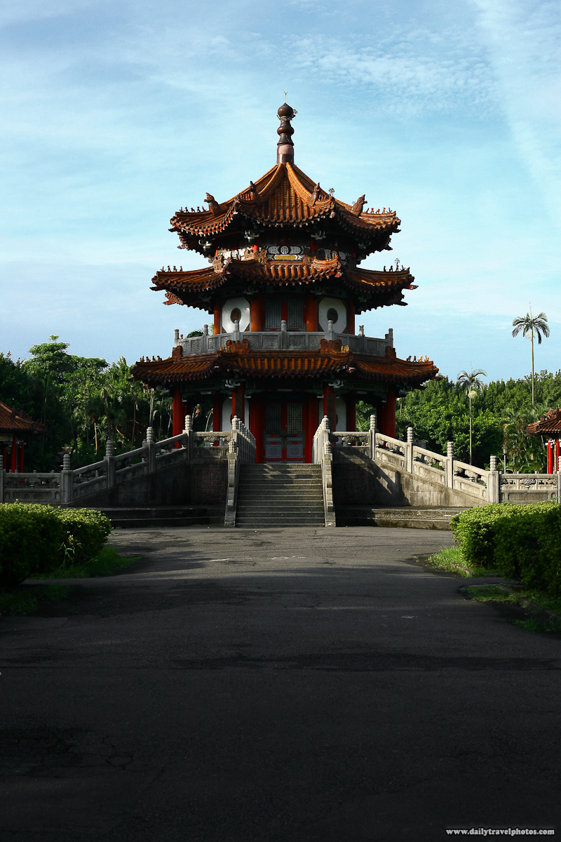 228 Peace Memorial Park Pagoda in Morning - Taipei, Taiwan - Daily Travel Photos