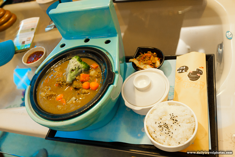 Beef Curry Served in Miniature Toilet at Modern Toilet Restaurant - Taipei, Taiwan - Daily Travel Photos