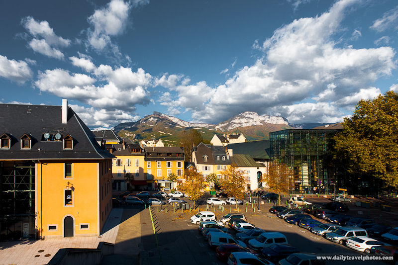 Mountains Surrounding Downtown of Alps City - Chambery, France - Daily Travel Photos