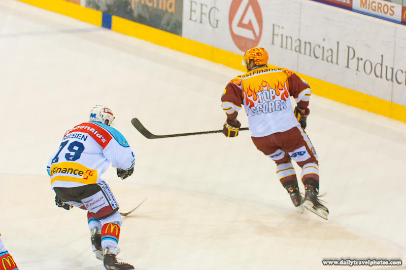 Top Scorer Jersey in Swiss Ice Hockey League - Geneva, Switzerland - Daily Travel Photos