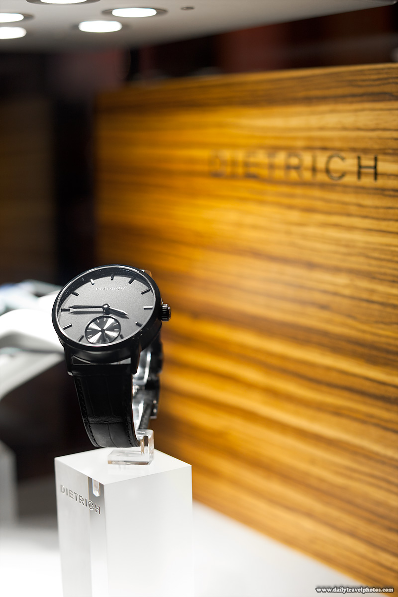 Boutique Swiss Watchmaker Dietrich Displays Latest Watches at The Watches Day - Geneva, Switzerland - Daily Travel Photos
