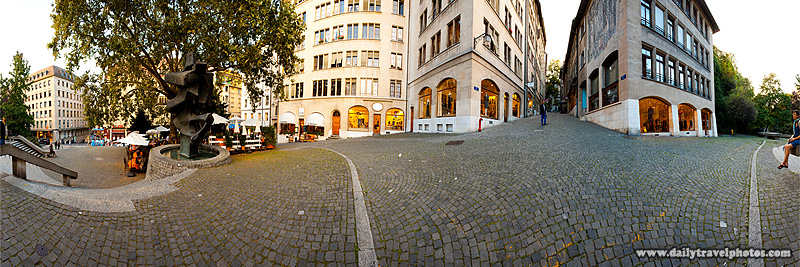 Old City Entrance Entrance - Geneva, Switzerland - Daily Travel Photos