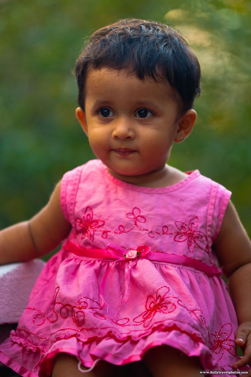 Cute Sri Lankan Child - Unawatuna, Sri Lanka - Daily Travel Photos