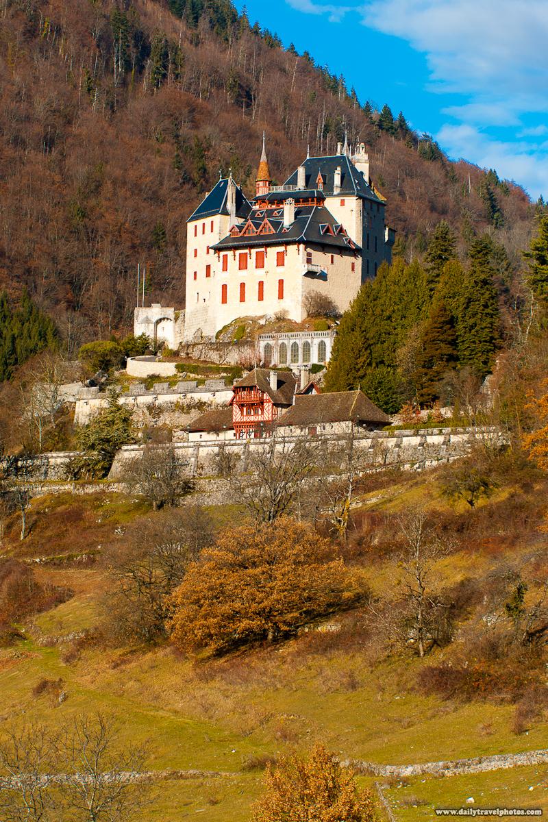 Chateau du Menthon Saint Bernard - Menthon-Saint-Bernard, Haute-Savoie, France - Daily Travel Photos