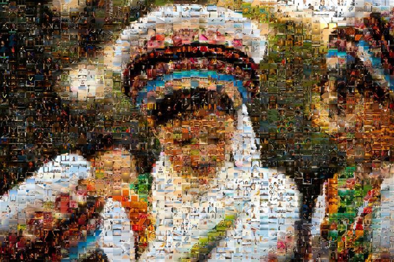Chinese Bai Minority Mosaic - Many Places, Around The World - Daily Travel Photos