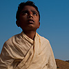 photo: Boy Brahman Priest - A young Brahman priest at the reservoir temple in Badami, India (ARCHIVED PHOTO on the weekends - originally photographed 2009/02/23).