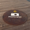 The Photo Spot Photo: A clearly-marked and officially sanctioned point from which to take a photo of the Banpo Bridge (ARCHIVED PHOTO on the weekends - originally photographed 2009/10/14).