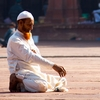 Muslim Prayer Fatehpur Sikri Photo: A Muslim man prays in the courtyard of Fatehpur Sikri's Main Mosque, or Jama Masjid (ARCHIVED PHOTO on the weekends - originally photographed 2009/11/18).