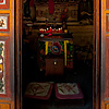 Decorated Doors Photo: A Chinese altar is enclosed by a pair of beautifully decorated folding doors in Dali, China (ARCHIVED PHOTO on the weekends - originally photographed 2007/06/18).