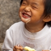 Ice Cream Beam Photo: A young Chinese girl smiles covered with a face full of ice cream (ARCHIVED PHOTO on the weekends - originally photographed 2007/09/22).