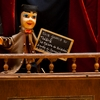 Puppetry Photo: A locally well-known puppet show (Guignol) advertisement in the old preserved section of Lyon.