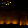 Wide Wall Photo: A wide panorama of the ancient city wall of Pingyao by night (ARCHIVED PHOTO on the weekends - originally photographed 2007/07/05).