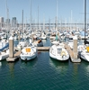 Docking Lot Photo: Yachts docked at the harbor near Pac Bell park in San Francisco.