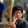 photo: Piper Performance - A traditional wooden reed instrument called a Lu Sheng used by the Miao ethnic minority of China (ARCHIVED PHOTO on the weekends - originally photographed 2007/09/15).