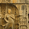 Shaped Stone Photo: The main cave carvings at the Longmen Grottoes in Luoyang, China (ARCHIVED PHOTO on the weekends - originally photographed 2007/07/03).