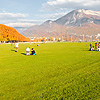 Lawn Linger Photo: The large grassy area with its perfectly manicured lawn opens up to Annecy Lake in Annecy, France.