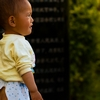 "Easy Exit Photo: A Chinese child wears a typical ""open back"" pant which facilitates toilet activities (ARCHIVED PHOTO on the weekends - originally photographed 2007/06/13)."