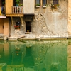 Rickety Residence Photo: Traditional Savoyarde houses built along the canal in Annecy.