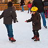 Rink Rats Photo: Children enjoy a temporary winter ice skating rink in Annecy, France.